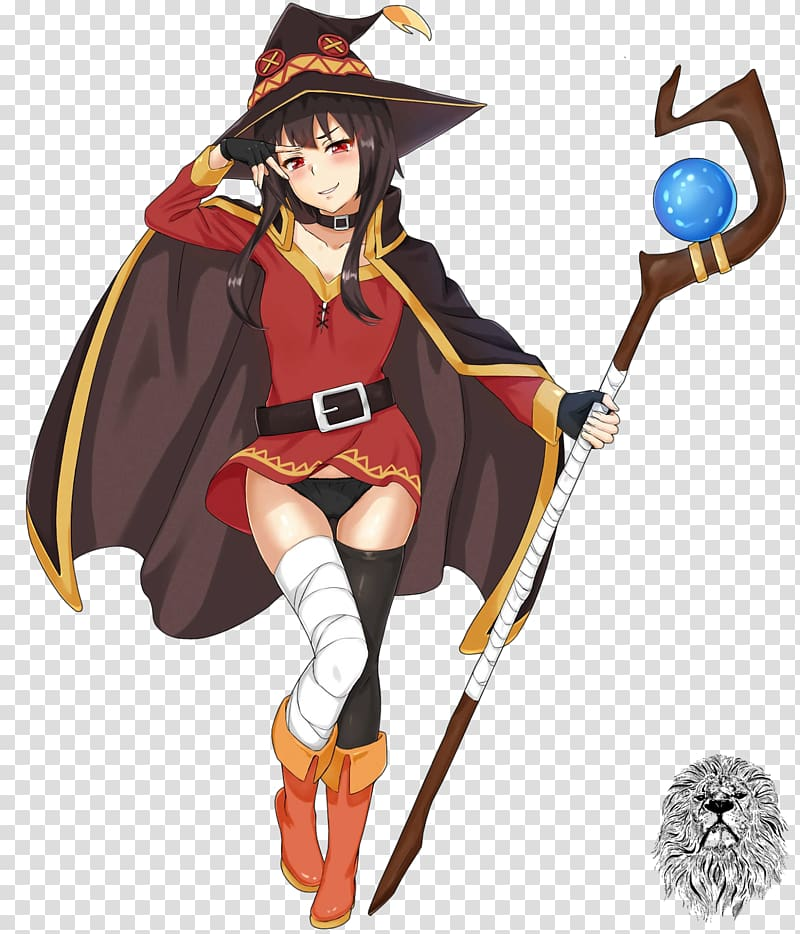 KonoSuba Anime Fiction, Anime transparent background PNG.
