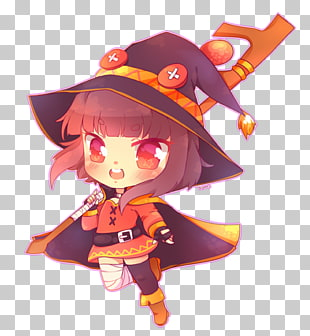 47 megumin Konosuba PNG cliparts for free download.