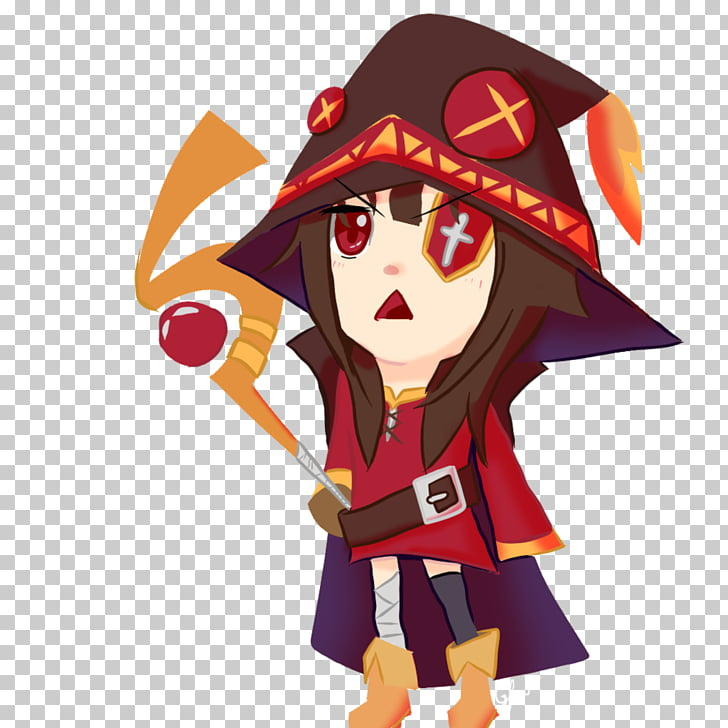 Undertale Fan art Drawing, Megumin PNG clipart.