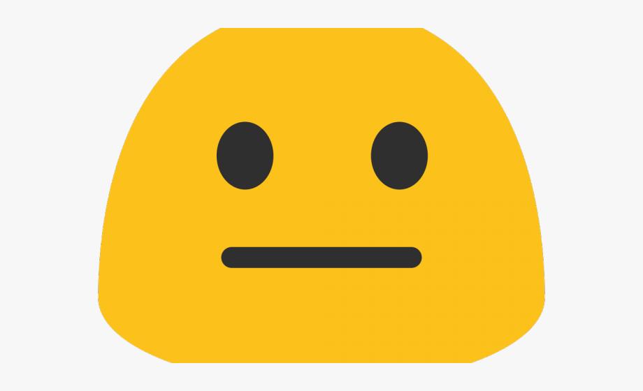 Emoji Clipart Meh.