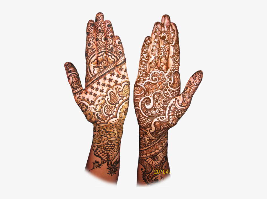 Mehendi Hand Designs Png Hd.