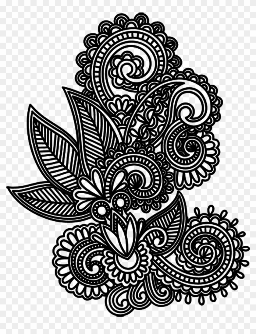 Tattoo Design Drawing Mehndi Png File Hd Clipart.