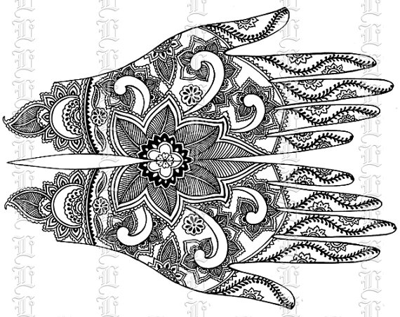 Mehndi clipart 6 » Clipart Station.