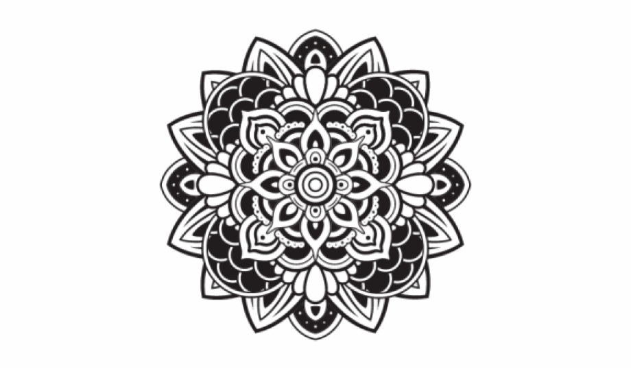 Flower Mehndi Design Png Free PNG Images & Clipart Download.