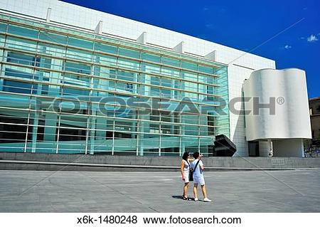 Pictures of Barcelona Museum of Contemporary Art (MACBA) by.