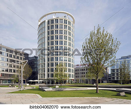 Stock Photography of Coffee Plaza office building, architect.