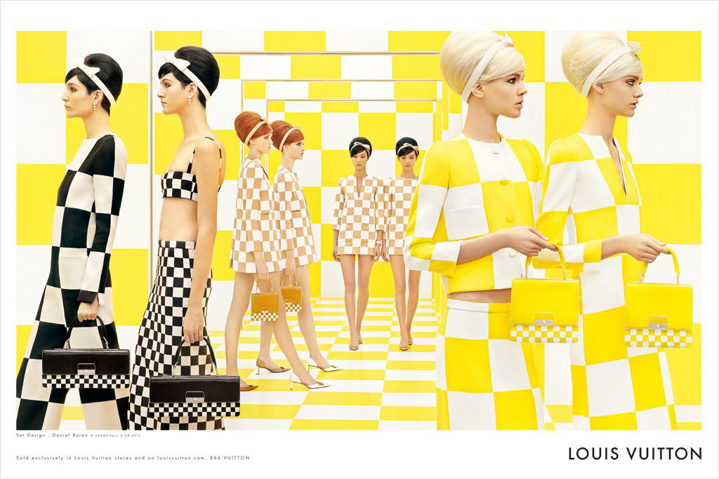 1st LOOK: Louis Vuitton Spring Summer 2013 by Steven Meisel.