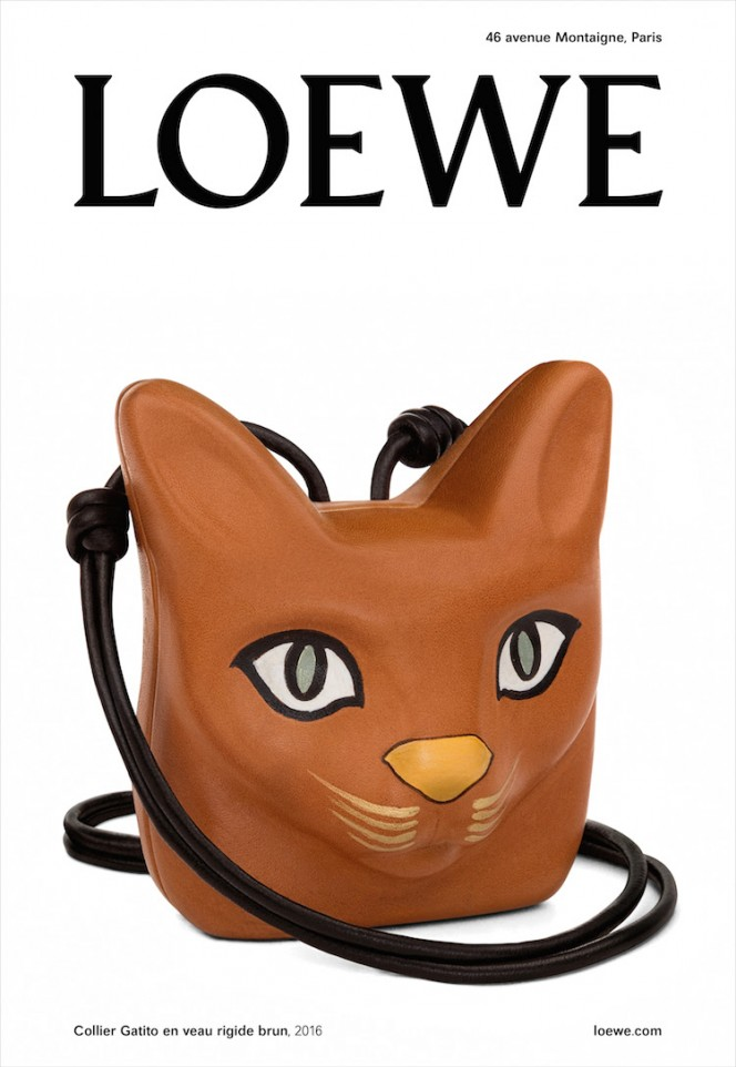 LOEWE preview their Steven Meisel shot FW16 campaign during PFW.