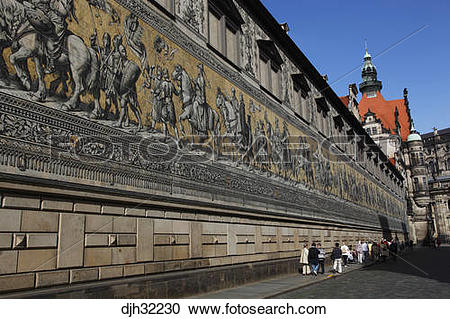 Stock Photography of Germany, Saxony, Dresden, Old Town.