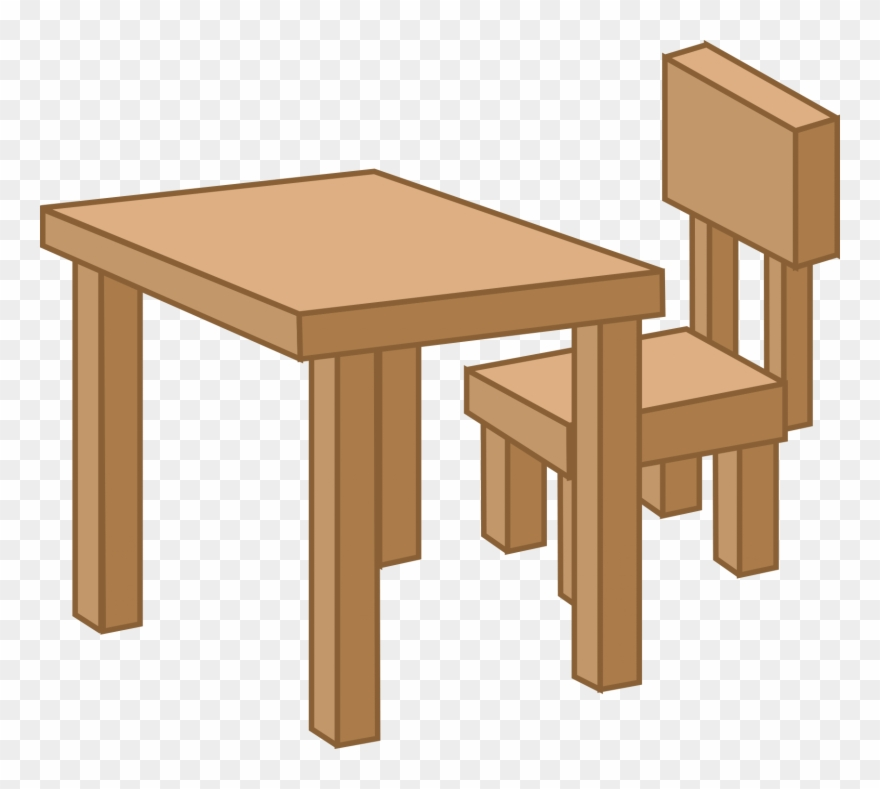 Clipart Table Meja.