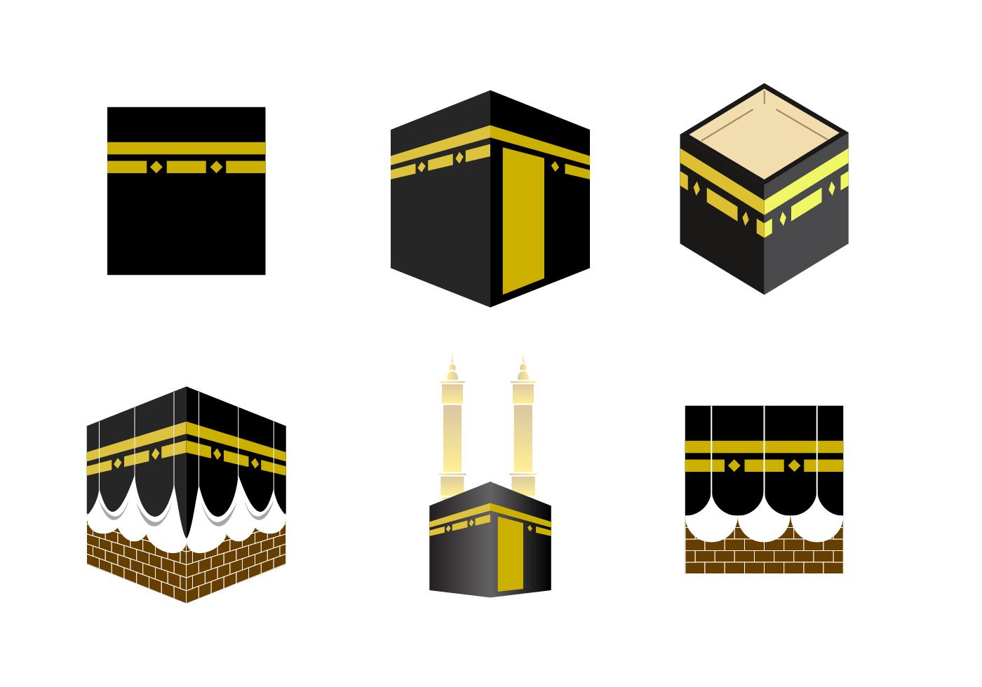 Free Makkah Kaaba Vector.