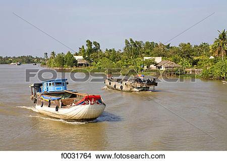 Stock Photo of Vietnam, Mekong delta. f0031764.
