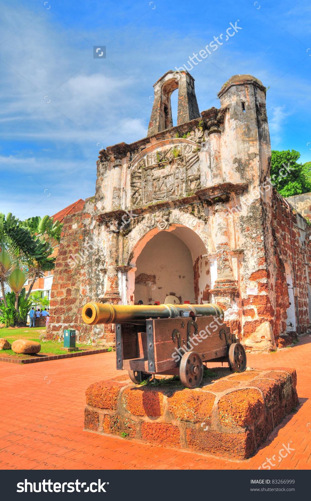 Old Town Melaka Malaysia Stock Photo 83266999.