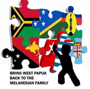 melanesia hashtag on Twitter.