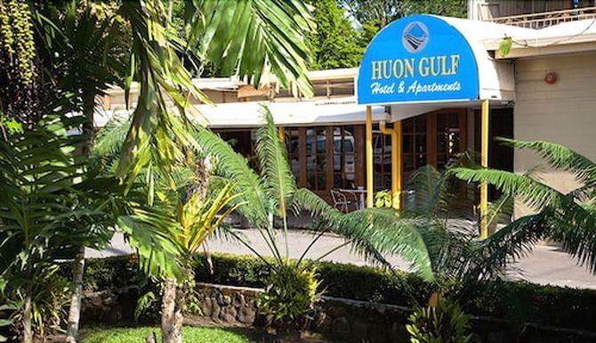 Huon Gulf Hotel & Apartments in Lae, Papua New Guinea.