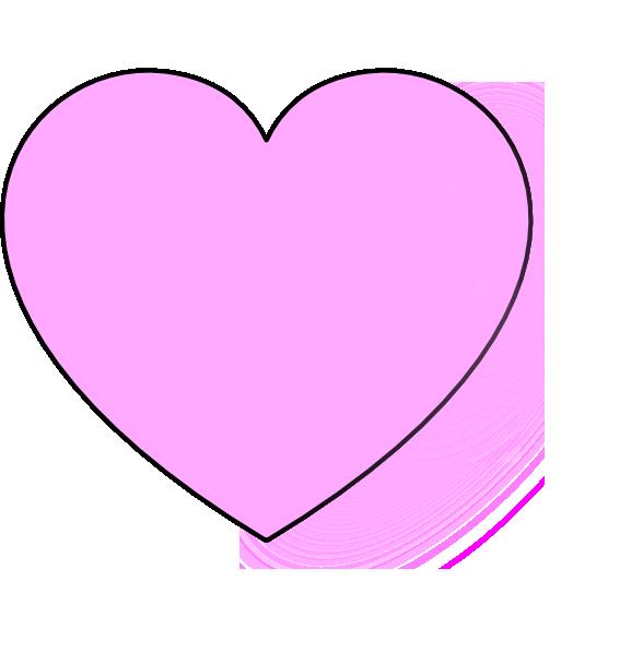 Light Pink Heart Clip Art at Clker.com.