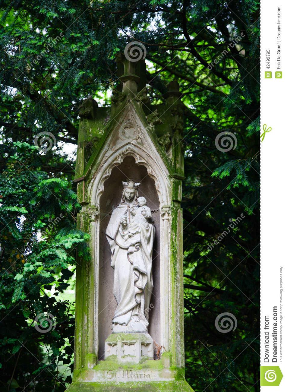 Grave Stock Photo.