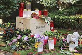 "Stock Images of ""Grave of actor and entertainer Dirk Bach at."