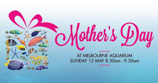 Mother's Day at Melbourne Aquarium.
