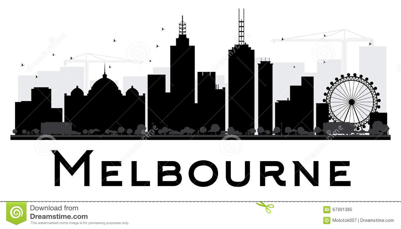 Melbourne Stock Illustrations.