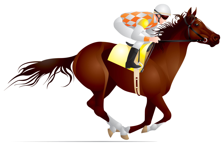 Melbourne Cup Horse Clipart.