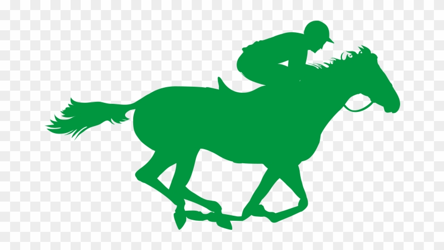 Clipart Horse Racing.