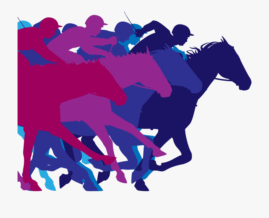 Horse Racing Clipart Melbourne Cup.