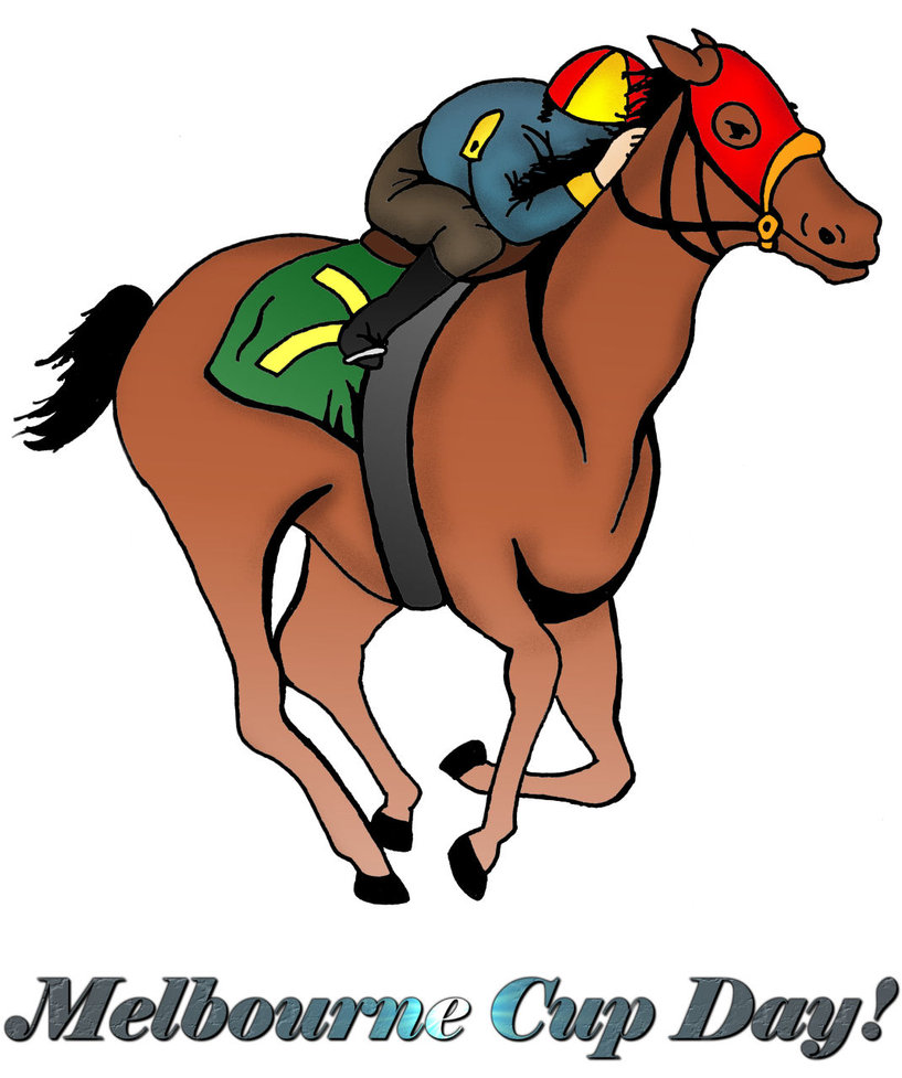 Melbourne Cup Day Clipart.