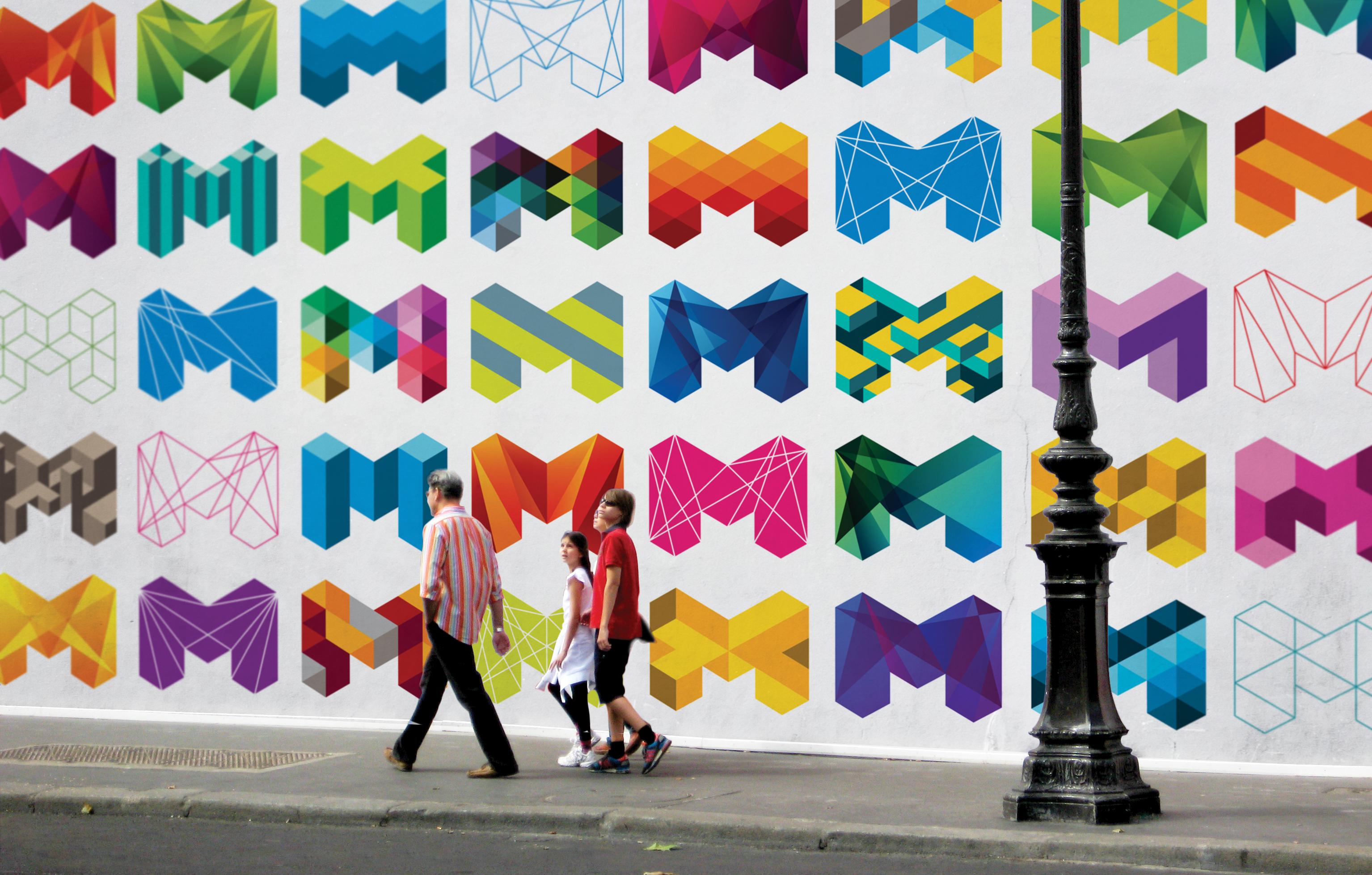 Rebranding the city of Melbourne.