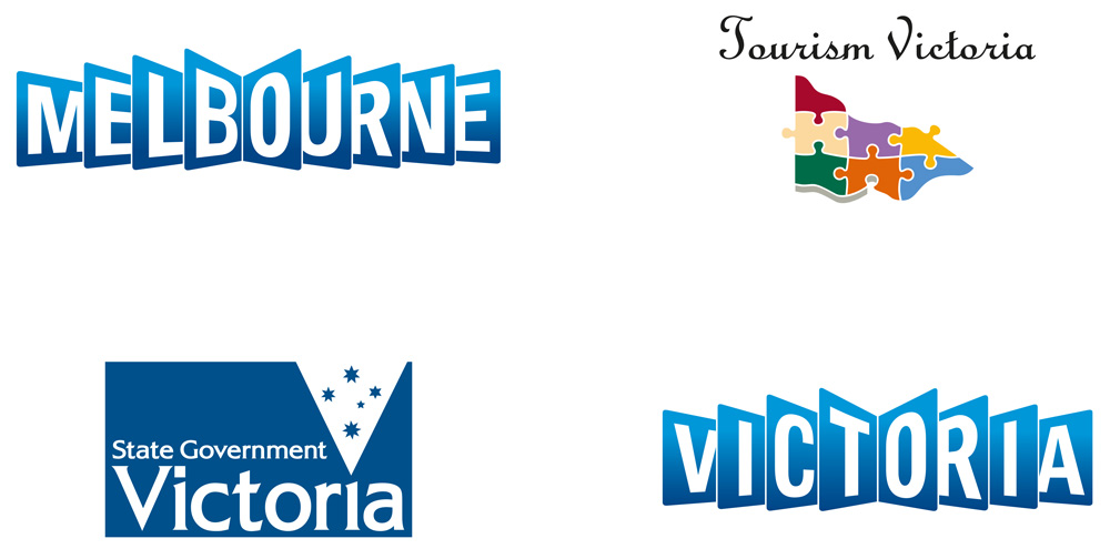 Brand New: New Logo and Identity for Victoria by Designworks.