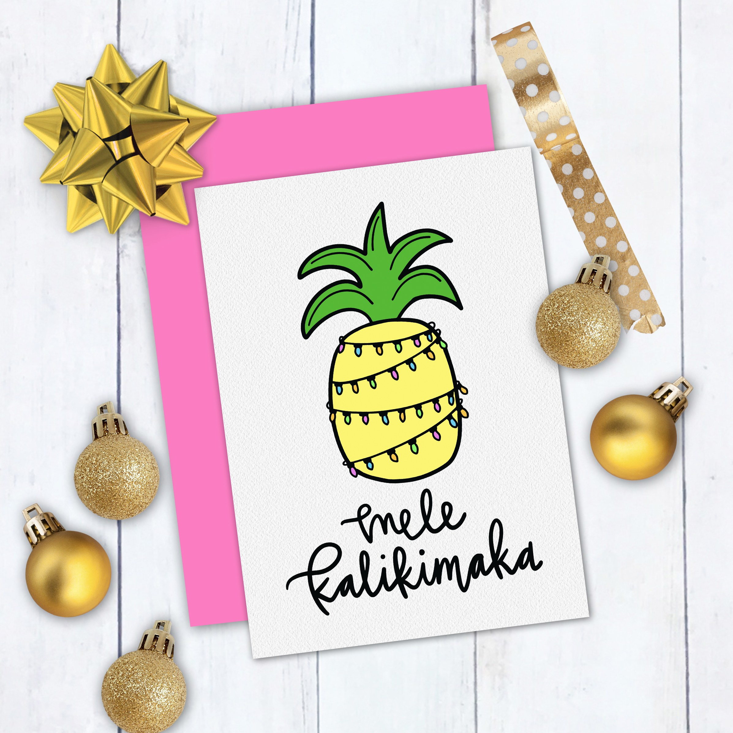 Mele Kalikimaka Free Tropical Christmas SVG.