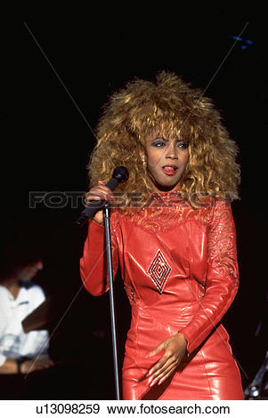 Stock Photograph of american, morgan, african, vocalist, singer.