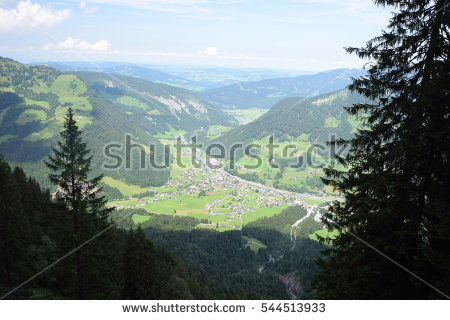 Bregenzerwald Mountains Stock Images, Royalty.