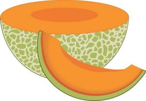 Melon Clip Art.