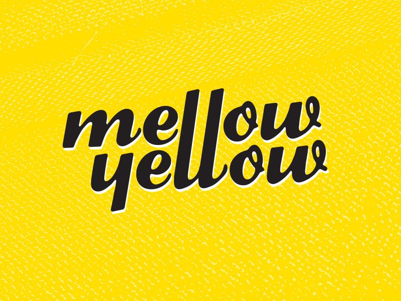 Mellow Yellow Logo by Jenna Hubert on Dribbble.