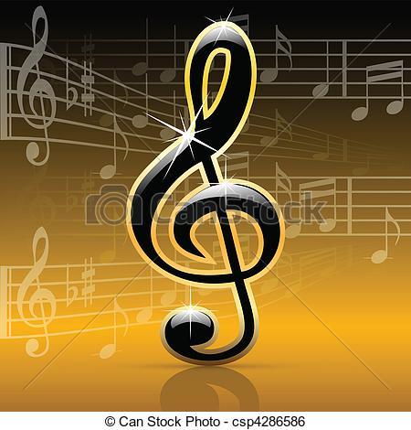 Melodies clipart.