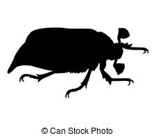 Chrysalis Silhouette Clipart.