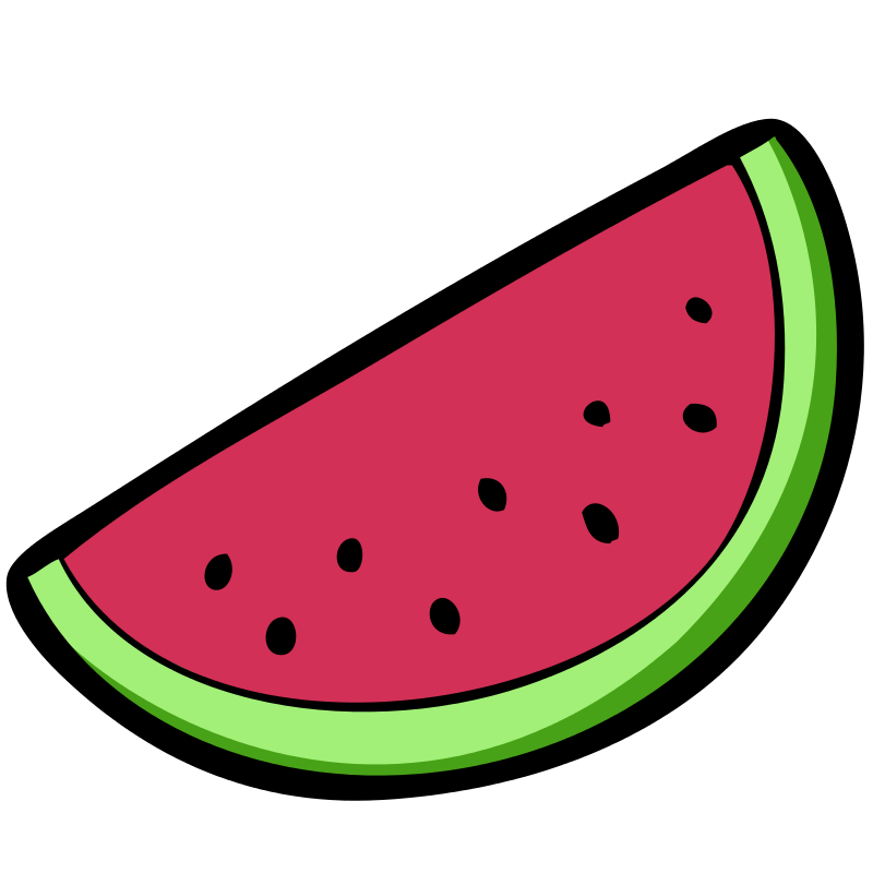 Free Watermelon Clipart.