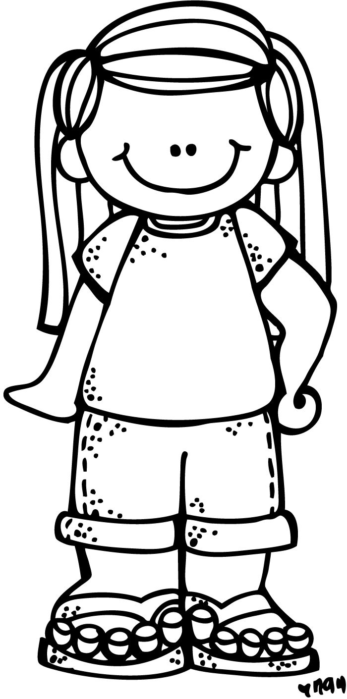 Download Free png Melonheadz Boy Elf Clipart Black And White.