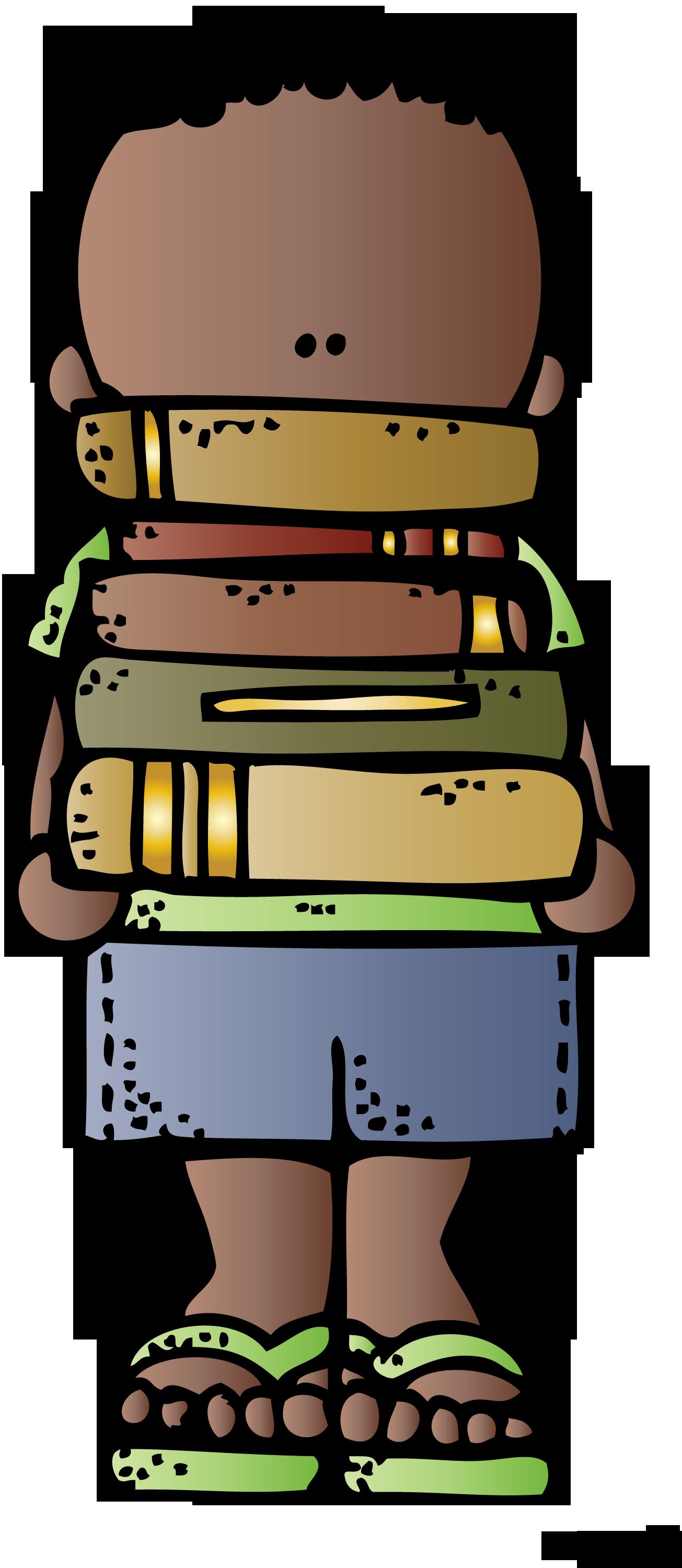 Melonheadz Book Clipart.