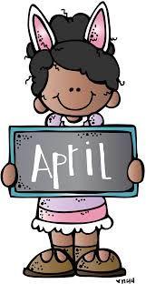 Image result for clip art april calendar melonheadz.