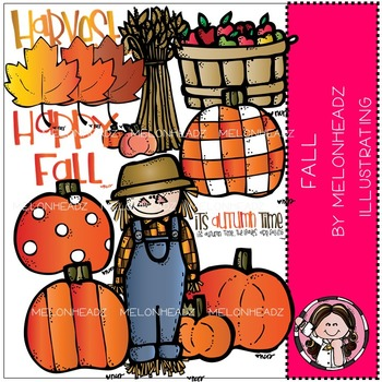 Happy Fall clip art.