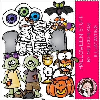Halloween stuff clip art.