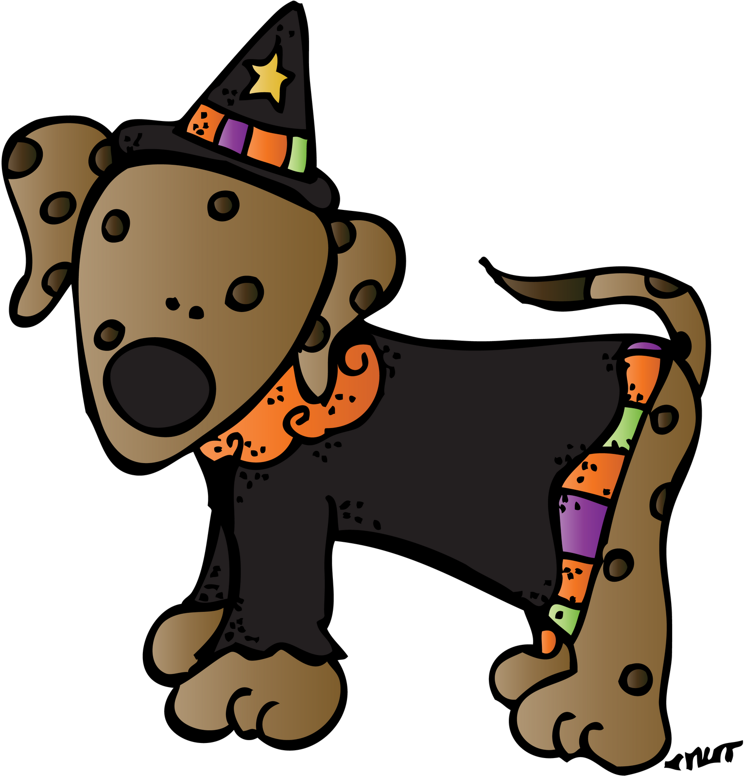 Thanksgiving Clipart Dog.