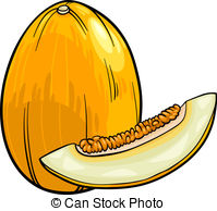 Melons clipart #13