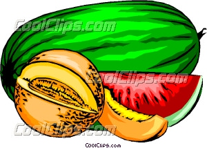 Melons.