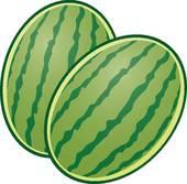 Melons Clip Art.