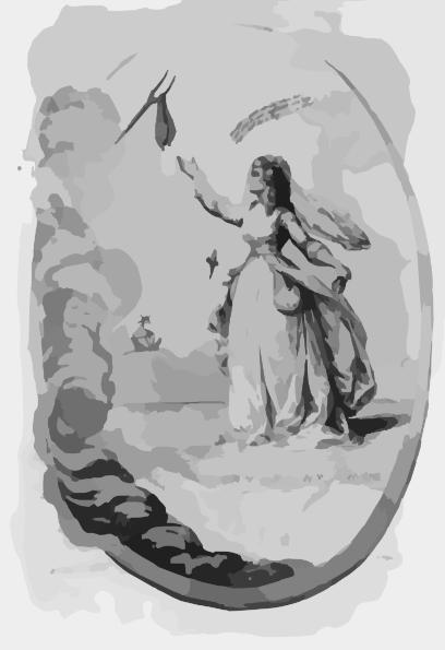 Melpomene Clip Art at Clker.com.