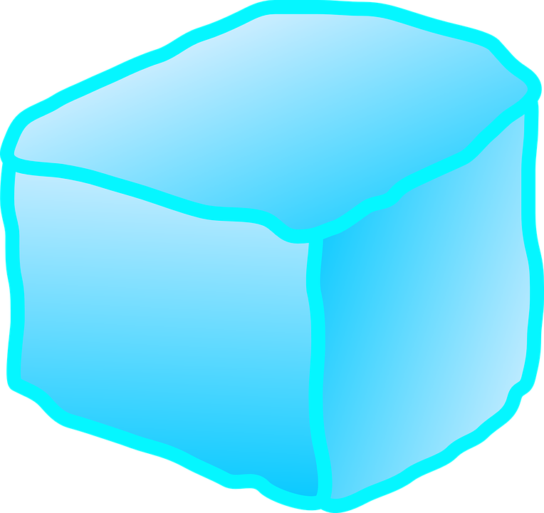 Free vector graphic: Ice, Cube, Block, Melting, Water.