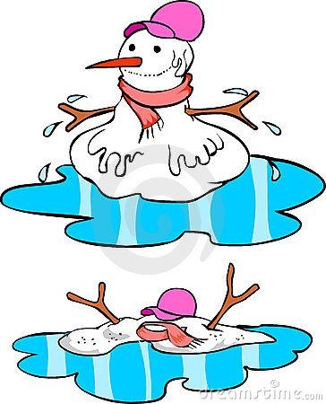 Melting Snowman Clipart (27+).